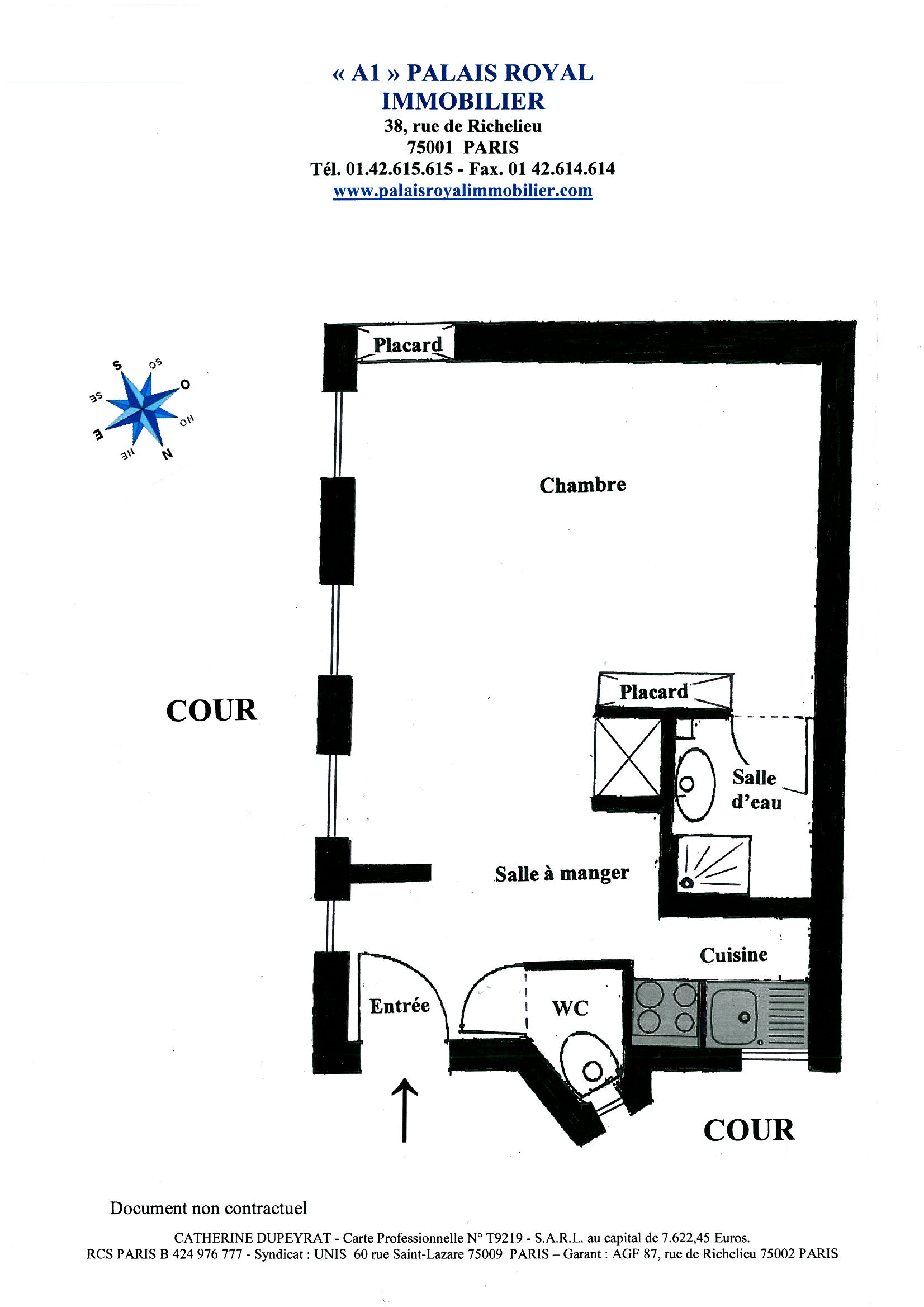 Louer appartement meubl tuileries concorde madeleine - Conditions location meublee ...