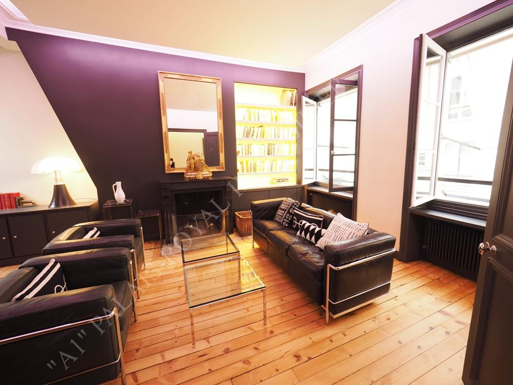 Location appartement prestige paris a1 palais royal for Appartement meuble location paris
