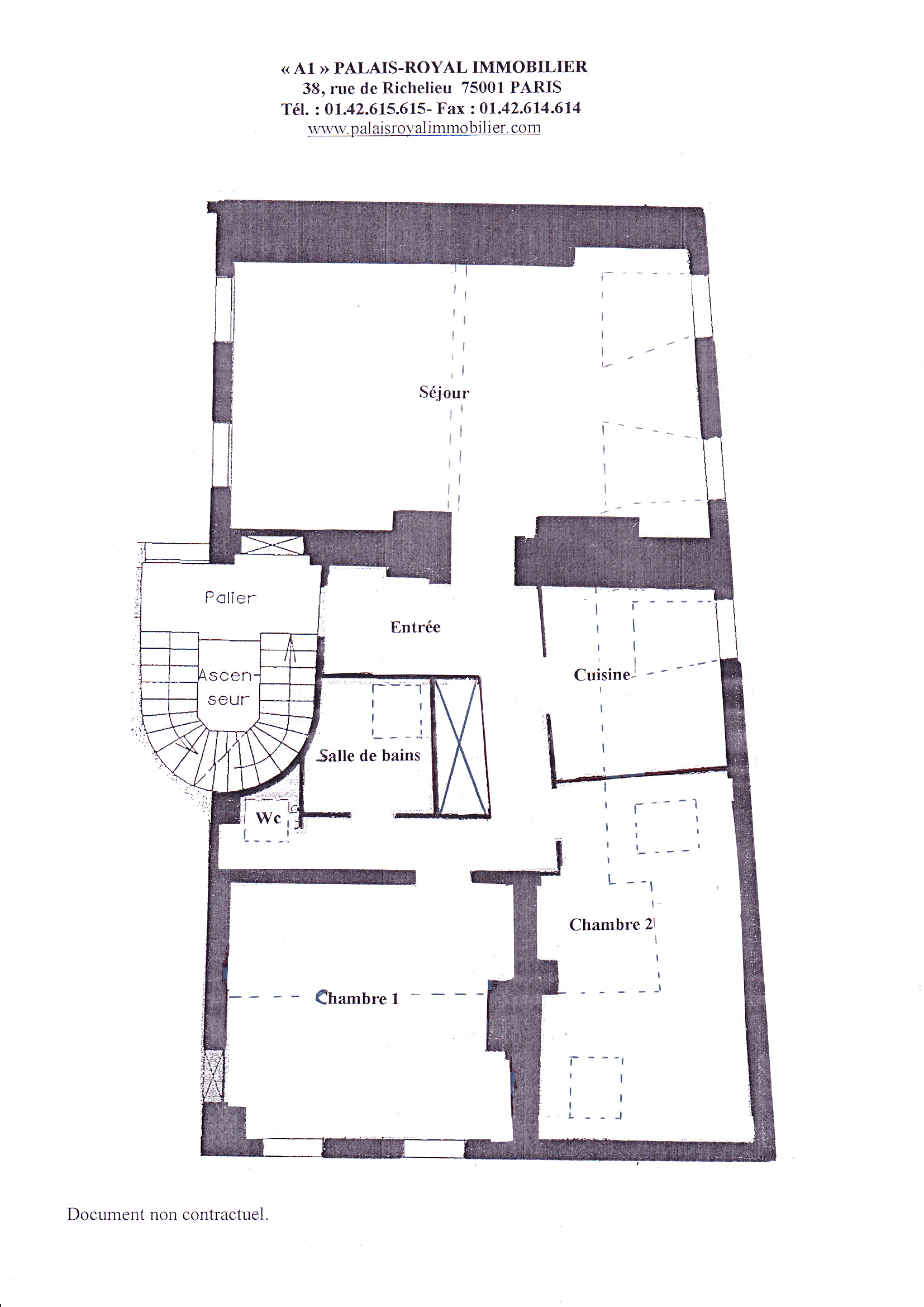 plan appartement à paris