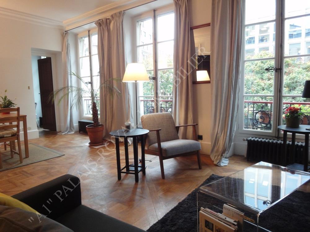 Location appartement prestige paris a1 palais royal for Meuble a louer paris